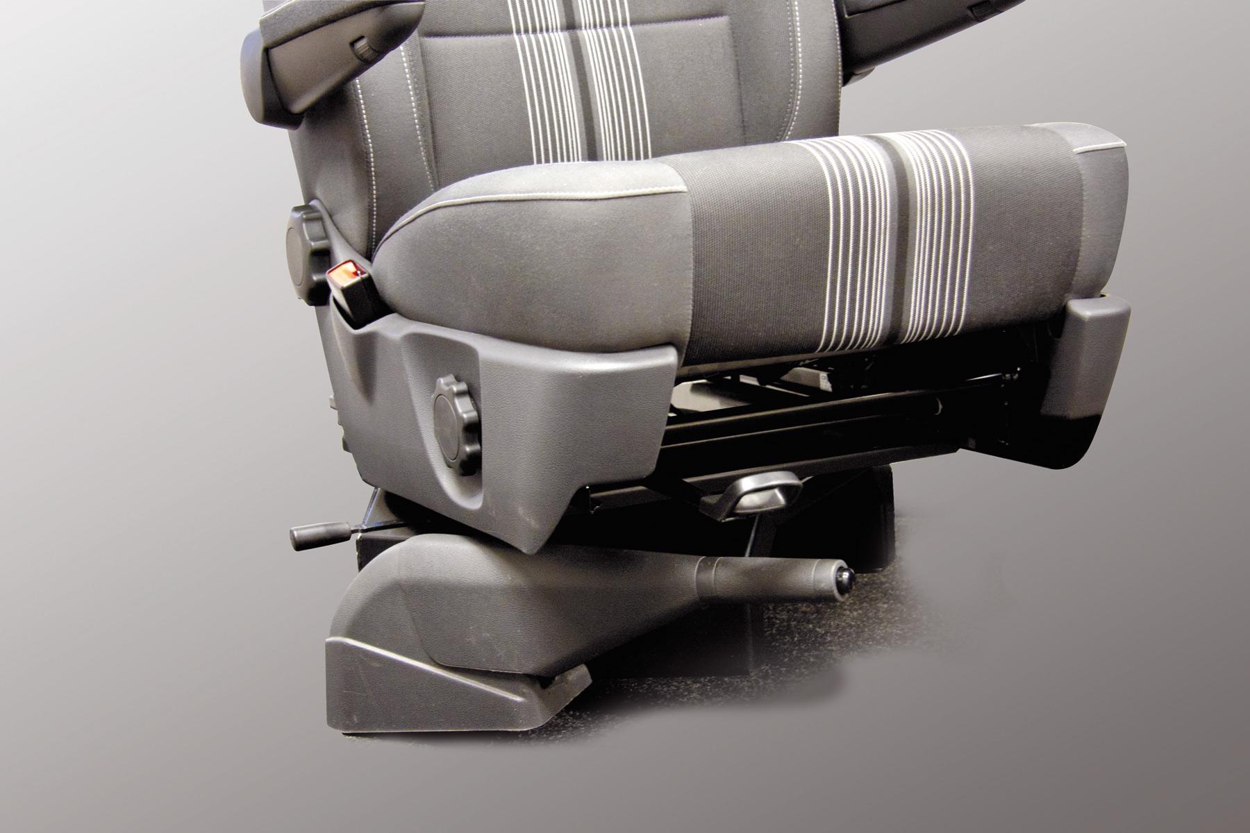 innovative drehkonsole f r vw t5 sitze flexibel. Black Bedroom Furniture Sets. Home Design Ideas
